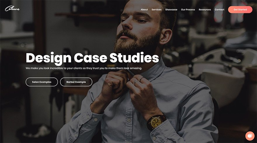 Colours Design Website Case Studies