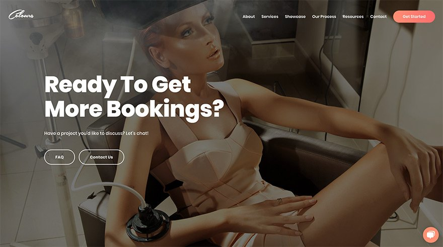 Get More Bookings Page